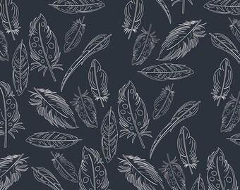 Knit Fabric, Art Gallery Knit Fabric, Panache Profundo, Cotton Spandex, Jersey Knit Fabric, Stretch Fabric