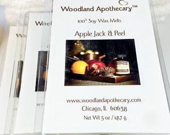 Soy Wax Melts - Apple Jack & Peel