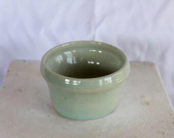 Light Blue Ceramic Candle Holder