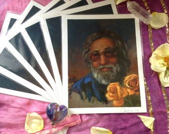 Limited edition hand embellished Jerry prints