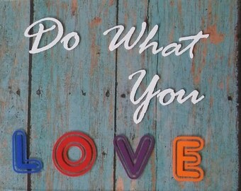 Do What You Love Decal  | Car Decal | Computer Decal | Decal | Computer | Sticker | Laptop decal | Laptop Sticker | Vinyl Decal | Vinyl