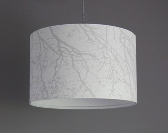 Lamp * shade * hanging * forest whispers