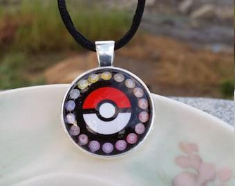 Poké Ball Necklace//Pokémon Necklace//Pokémon Pendant//Pokémon Choker//Poké Ball Pendant//Poké Ball Choker//Pokémon Jewelry//Pokémon Gifts//
