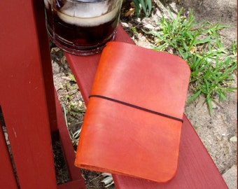 Passport Size CrisDori, Passport Travelers Notebook, Leather Fauxdori, Passport Fauxdori