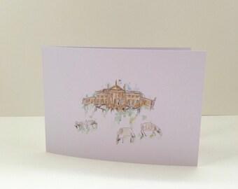 Kedleston Hall Greetings Card