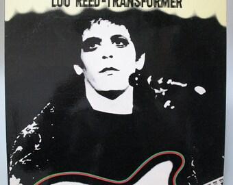 Very rare Lou Reed / transformer / CZ