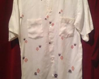 1950s Rayon Shirt