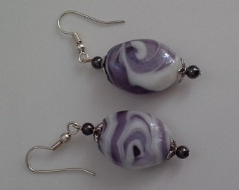Lampwork Glass Bead 21mm