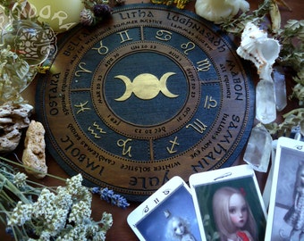 Wheel of the Year, Triple Moon, Gold