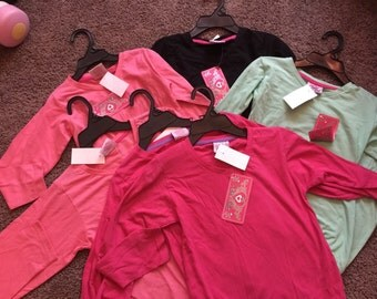 Girls monogrammed Longsleeve Shirts!