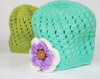 crochet hand made , hat crochet .