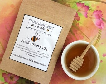 Collombatti Sweet'n'Sticky Chai Tea With Raw Australian Honey