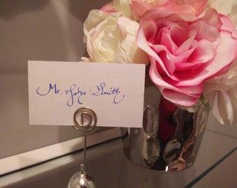 Place Card Writing Services (set of 10)