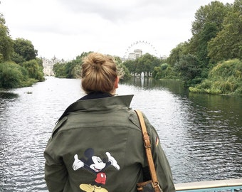 Mickey Mouse field jacket - army jacket - blouse