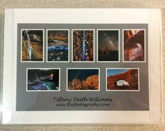 Boxed Set of 8 Note Cards - Southern Utah Images