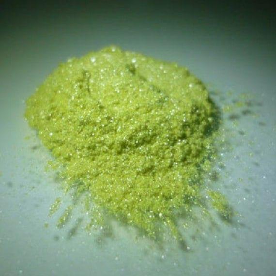 Lemon Yellow Pearlescent Pigments