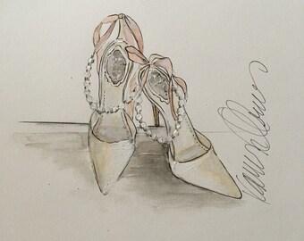 Fashion Shoe illustration