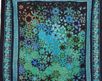 King size handmade, machine pieced, 100% cotton quilt made in Atlantic Canada, PEI