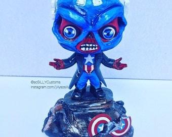 Red Skull /Captain America Custom PopVinyl