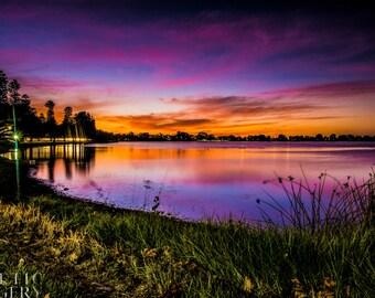 Lake Monger (Matte print)