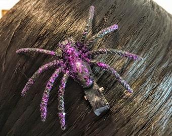Halloween Spider Hair Clip Black Spider Hair Pins