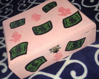 Cash money box