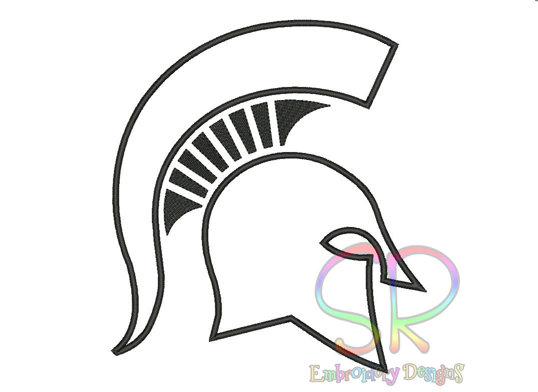 michigan spartan coloring pages - photo#20