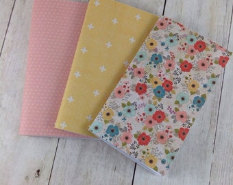 Notebook, Lined Paper Notebook,  Set of Notebooks, Mini Notebooks, Mini Journal, Journal Set, Notebook Set N027