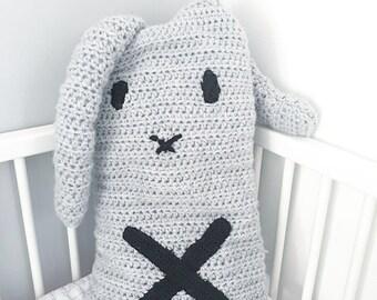 Pillow rabbit 30x55