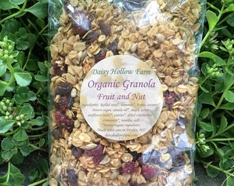 Organic Granola - Fruit and Nut