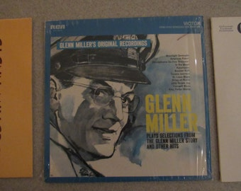 Glen Miller Vintage Record Collection (6 Records) from the 60s & 70s
