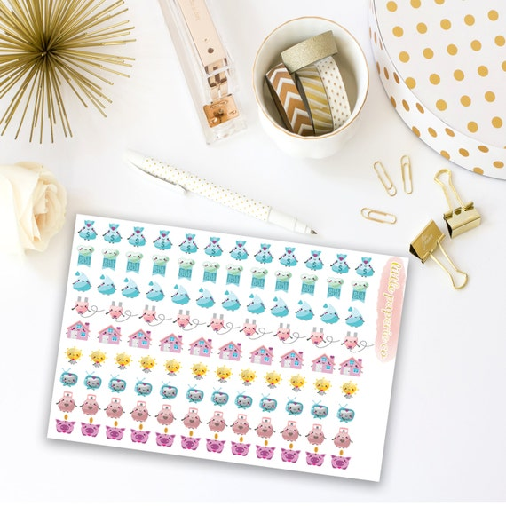 Household Bill Planner Stickers | Item Stickers For Planners, Bill Stickers, Bill Trackers, Item Stickers, Planner Stickers, Planner Decor