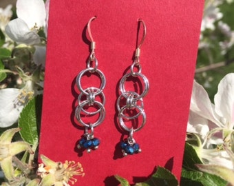 Chain Mail Earrings