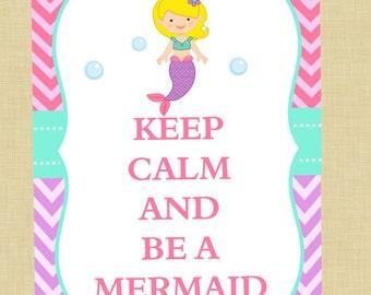 Mermaid Keep Calm Download