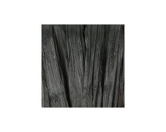 Raffia black Matt - artificial raffia - 10gr - raffia Ribbon - raffia thread