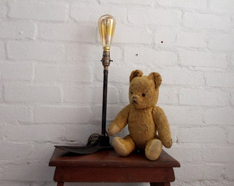cast iron shoe form lamp | handcrafted & repurposed