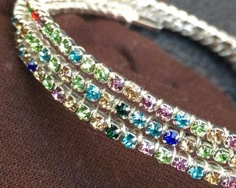 Muilt color bracelet