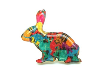 Rabbit Brooch - The Zoo