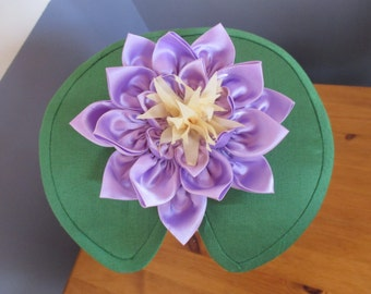 Water Lily Pad Fascinator