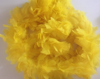 150g Flat Fluffy Turkey Ruff Feather Boas