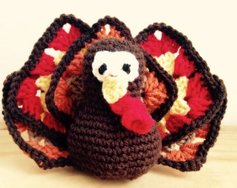 Amigurumi Turkey- Thanksgiving Turkey
