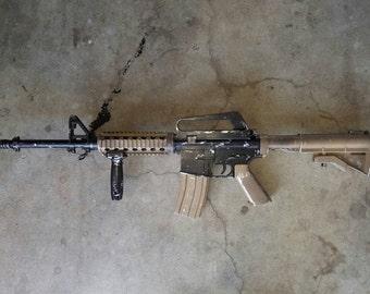 AR15 airsoft gun good for cosplay.