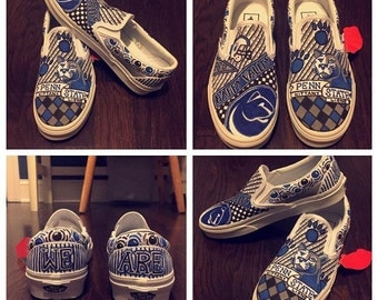 Custom Penn State shoes