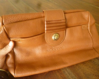 Fox brown leather bag