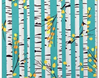Birch tree print pul autumn aspen