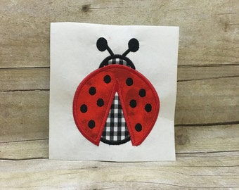 Ladybug Applique, Ladybug Embroidery Design Applique