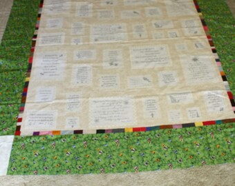 Friendship Quilt Top