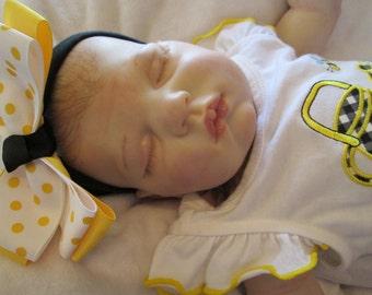 Reborn Baby Girl, Fake Baby, Sweetie by Donna RuBert, Lifelike Baby Girl, Very Realistic Baby, Hand Painted