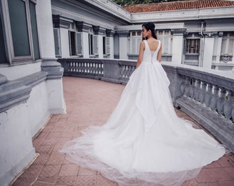 Lotus Bridal Dress - Gorgeous wedding gown