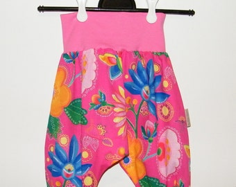Sarouel Rose fabric Oeko Tex